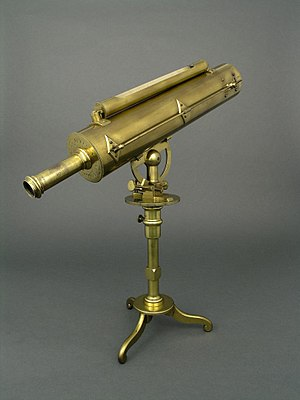 James Short (mathematician) - Brass telescope made by Short, now in the collection of Thinktank, Birmingham Science Museum.