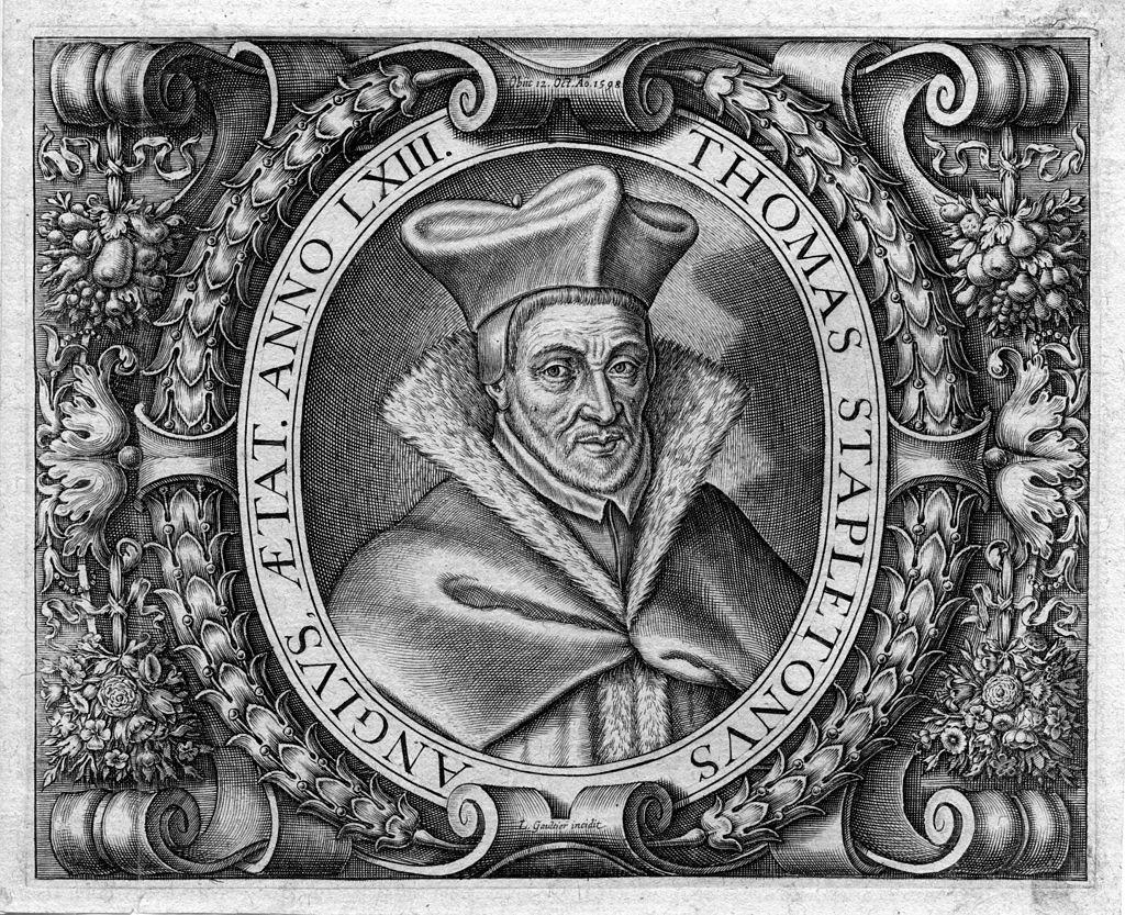 Thomas Stapleton, un opposant à Turretin sur l'authenticité des textes hébreux et grecs