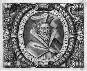 Thomas Stapleton (theologian) - Image: Thomas Stapleton