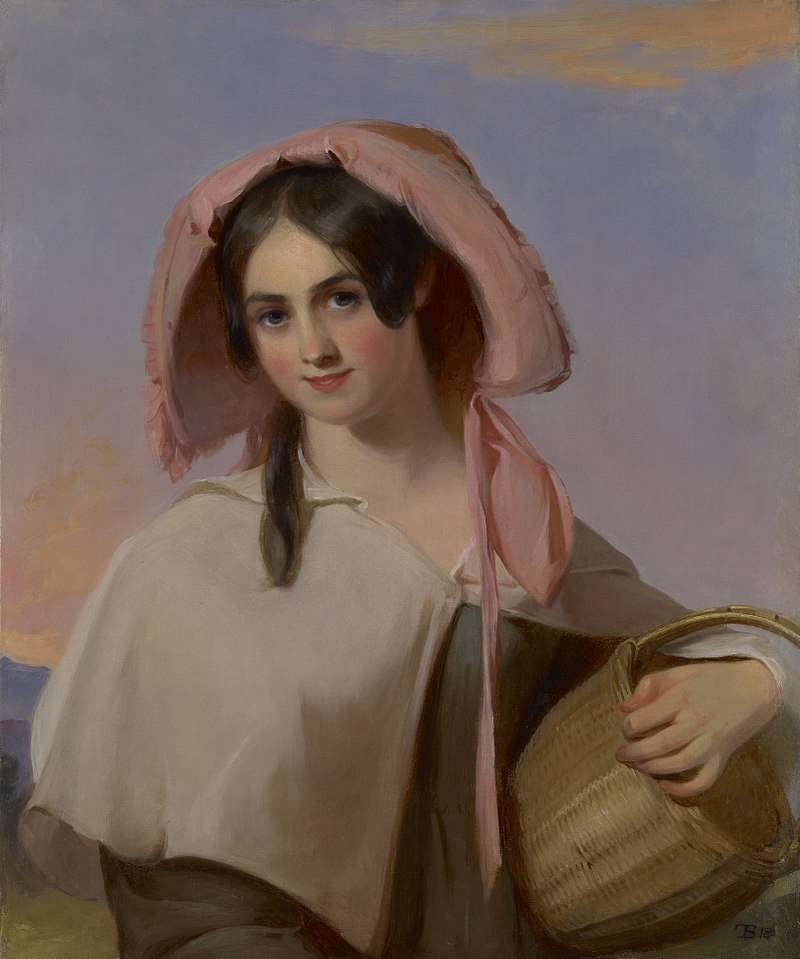 Thomas Sully - Elizabeth Cook (Mrs. Benjamin Franklin Bache) as The Country Girl - 1943.71 - Yale University Art Gallery.jpg