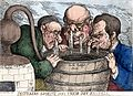 Three grisly distillers with streams running from their nose Wellcome L0014536.jpg