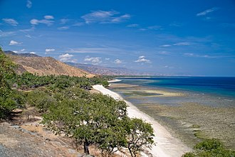United Nations Security Council Resolution 1599 - Coastline of East Timor