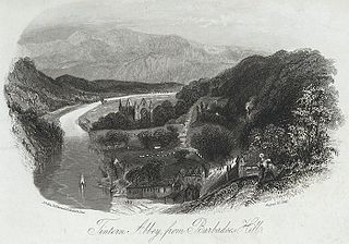 Tintern Abbey, from Barbadoes hill