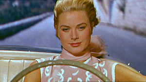 English: Screenshot of Grace Kelly from the tr...