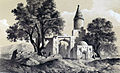 Tomb of Imam Zadeh, Abhar by Eugène Flandin.jpg