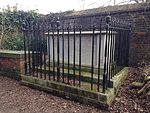 Tomb of John Constable and Family and Attached Railings in St John-at-Hampstead Churchyard