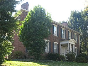 Tomlinson Mansion - Front of the house