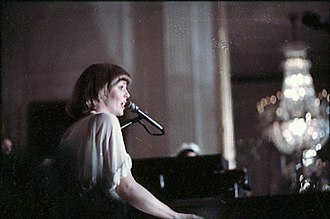 Captain & Tennille - Tennille performing at the White House, 1976