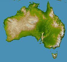Australija 230px-Topography_of_australia