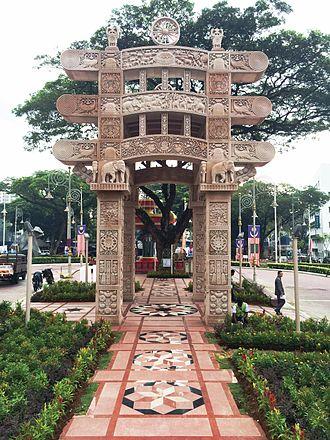 Torana Gate, Malaysia - Image: Torana gate at Kuala Lumpur, Malaysia