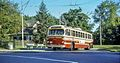 Toronto CCF-Brill trolleybus in Doncliffe Loop in 1968.jpg