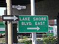 Toronto Lake Shore Blvd Signs.JPG