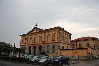 Torricella del Pizzo Comune in Lombardy, Italy