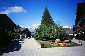 Anzère - Town Centre