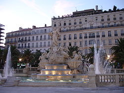 The Toulon of Haussmann - the Place de la liberté