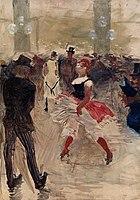 Toulouse-Lautrec - A l'Elysee-Montmartre, 1888.jpg