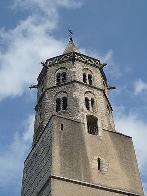 Saint-Amans-Soult - The tower of the church in Saint-Amans-Soult