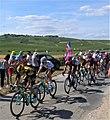 Tour de France 2019, étape 3, km 201, avant du peloton.jpg