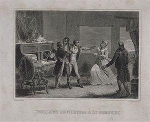 Français : Toussaint Louverture à Saint-Doming...