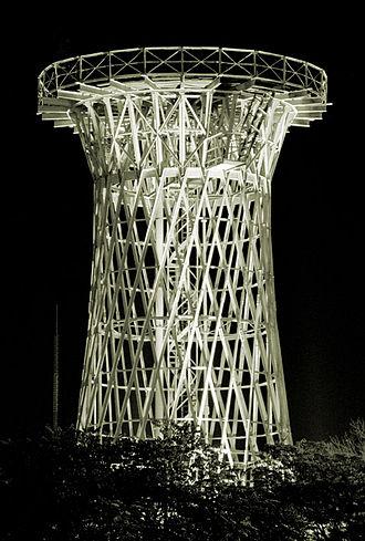 Krasnodar - Shukhov's Hyperboloid Tower near Krasnodar's Circus