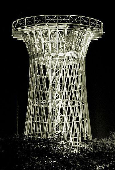 Шуховская башня вКраснодаре
