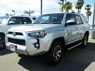 Toyota 4Runner Compact, later mid-size sport utility vehicle manufactured by Toyota