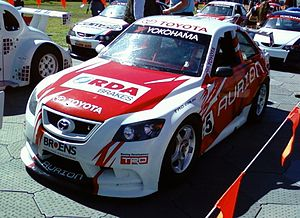 Aussie Racing Cars - A Toyota Aurion-bodied Aussie Racing Car.