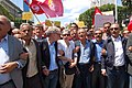 Trade union leaders, May 1st protest, Tunis, Tunisia.jpg