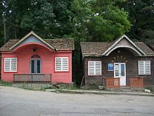 Traditional cottages in Dilijan, Armenia, 2009.jpg