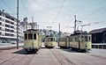 Trams at Neuchatel depot in 1976.jpg