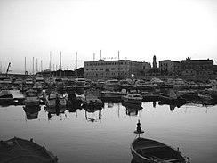 The port of Trani.