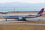 TransAsia Airways ,GE601 ,Airbus A330-343 ,B-22102 ,Departed to Taipei ,Kansai Airport (16800992302).jpg