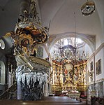 Traunkirchen Klosterkirche Fischerkanzel 3.jpg