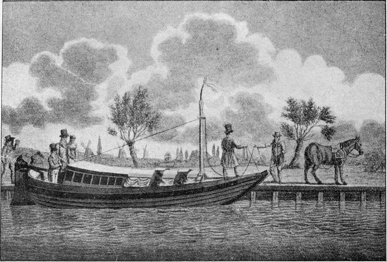 File trekschuit 19e wikimedia commons for Interieur 19e eeuw