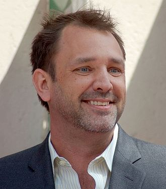 Trey Parker - Parker at a ceremony for Penn & Teller to receive a star on the Hollywood Walk of Fame in 2013.