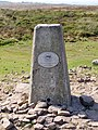 Trig Point at Beacon Batch - Mendips - geograph.org.uk - 971503.jpg