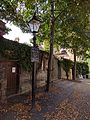 Trinity College, Two Lamp Standards Outside The Great Gate On Trinity Street.jpg