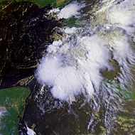 Tropical Depression One 25 june 1992 1329Z.jpg