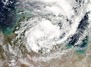 2008–09 Australian region cyclone season - Image: Tropical Low 04U 23 December 2008