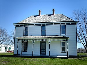 Harry S. Truman Farm Home - Image: Trumanfarm