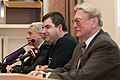 Trunin, Novoselov, Samarskiy at press conference 4.jpg