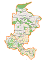 Trzebnica (gmina) location map.png