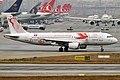 Tunisair (Carthage Eagles FIFA 2018 Livery), TS-IMP, Airbus A320-211 (47638193931).jpg