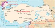 Turkey-Greece-Bulgaria on Treaty of Lausanne
