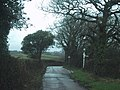 Turning for Yeoford - geograph.org.uk - 1603089.jpg
