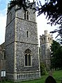 Two Towers, SS Andrew and Patrick, Elveden - geograph.org.uk - 909095.jpg