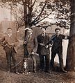Tychy, lata międzywojenne, w tle Browar Książęcy, ok. 1926 roku.jpg