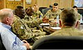 U.S. Army Gen. Lloyd Austin III, second from left, the commander of U.S. Central Command, speaks with leadership with the 4th Brigade Combat Team, 10th Mountain Division, Task Force Patriot and Tactical Advise 131006-A-CB167-007.jpg