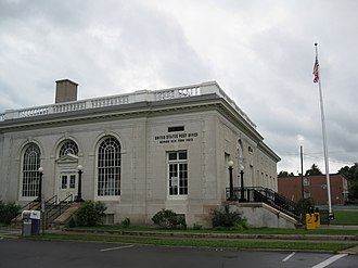Newark, New York - U.S. Post Office in downtown Newark