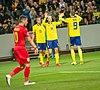 UEFA EURO qualifiers Sweden vs Romaina 20190323 Celebrate.jpg